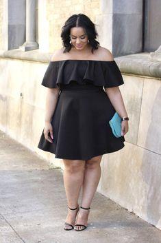 Plus Size Fashion - Beauticurve #plussizedresses