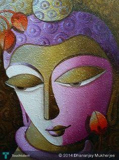 BUDDHA II #Creative #Art #Painting @touchtalent.com