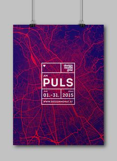 AM PULS is a proposal for the annual design month taking place in Graz, Austria. During that time there is always happening something in the city. There are taking place exhibitions and events. The city never stands still. Visitors form Graz, Austria and …