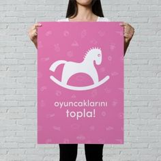 Oyuncaklarını Topla - Motto Poster