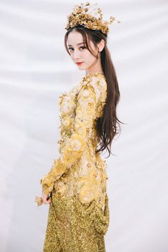 Dilraba Dilmurat spotted at China Golden Eagle TV Art Festival Asian Woman, Asian Girl, Ideal Girl, Singer Fashion, High Low Prom Dresses, Beautiful Costumes, Chinese Actress, Edgy Outfits, Floral Maxi Dress