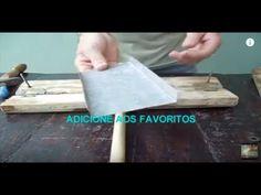 COMO FAZER DOBRADEIRA MANUAL CASEIRA DE CALHAS, RUFOS E CHAPAS / BENDER PLATES / DOBRADORA - YouTube