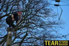 Sky Ropes at the TEAR Adventure Race in Wicklow Ireland 2013!