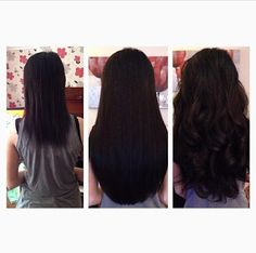 Cinderella hair extensions review kudu hair extensions love these brown before and after hair extensions pmusecretfo Choice Image