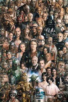 Star Wars characters before episode 7