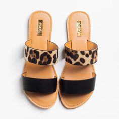 Apr 2020 - Double Strap Slip-On Sandals - Qupid Shoes Cute Sandals, Cute Shoes, Women's Shoes Sandals, Me Too Shoes, Slide Sandals, Flats, Sandal Heels, Summer Sandals, Double Strap Sandals
