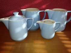 MELITTA 4 x Kanne - hellblau - original 50er / 60er | eBay