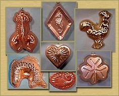 Kitchen Chotchkies: Copper Jello-molds just like The Golden Girls have in their kitchen Those Were The Days, The Good Old Days, Back In Time, No Time For Me, Retro Vintage, Vintage Items, Jello Molds, I Remember When, Oldies But Goodies