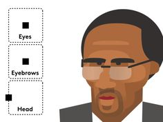 Character Rig - Stephen A Smith by Fraser Davidson #Design Popular #Dribbble #shots