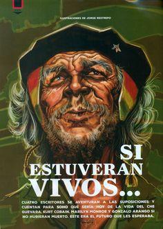 El Che anciano_Ilustración para la Revista SoHo.