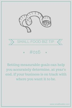 How do you measure your business goals?