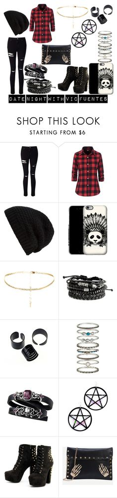 Untitled #6 by kenzie-motionless on Polyvore featuring Miss Selfridge, Marina Fini, Accessorize and Rick Owens