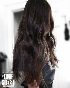 681 Likes, 87 Comments - Richmond VA Black Balayage, Balayage Long Hair, Subtle Balayage, Hair Inspo, Hair Inspiration, Dark Brunette, Face Framing, Hair Colors, Hair Goals