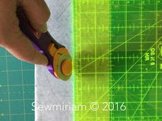 Sew Miriam : Free Tutorial - Orange Peel Perfection