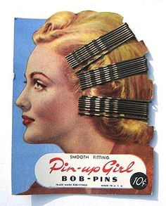 Pin up girl bob pins