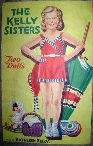 kelly sisters paper dolls