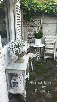 In my garden...@Decoraya #LittleGardenDesign
