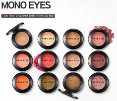 Amore Pacific ARITAUM Mono Eyes, 55 Colors, Eye Shadow, Various Texture, Korean #ARITAUM