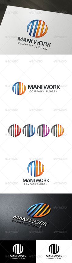 Letter M & W Logo http://graphicriver.net/item/letter-m-w-logo/8207414?ref=damiamio Stylish (m/w)logo template. FEATURES Different Colors Blue Grey Orange Red Purple Plain colours Black & White CMYK 100% vector EPS (v10) and Illustrator file PSD-Photoshop Fully editable Layered Font used: Nunito (bold & regular) & myriad pro (regular) Created: 11July14 GraphicsFilesIncluded: PhotoshopPSD #TransparentPNG #VectorEPS #AIIllustrator Layered: Yes MinimumAdobeCSVersion: CS Resolution: Resizable…