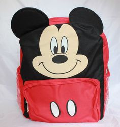 eaff0a3da32 Disney Mickey Mouse Kids Toddler Backpack School Bookbag Boys  disney   mickeymouse  kids