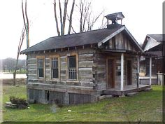 This is the Prater Cabin from the Pioneer Village at the Magoffin County Historical Society in Salyersville, KY