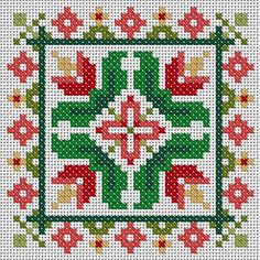 Tulips Scissor Fob or Ornament Cross Stitch PDF Chart Pattern Instant Download Free Pattern Included Floral Square Tile Small Needlework by TheEndlessKnot on Etsy https://www.etsy.com/listing/120093455/tulips-scissor-fob-or-ornament-cross