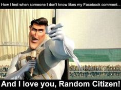 How I feel when a random stranger likes one of my Facebook posts