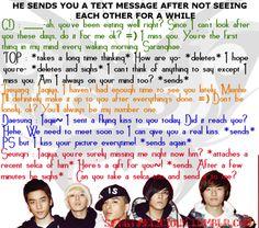 request and good night Top Bigbang, Daesung, Big Bang Scenarios, Bigbang G Dragon, Kpop Guys, Pop Bands, Bias Wrecker, Text Messages, Eating Well
