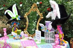Alice in Wonderland Mad Tea Party Birthday Party Ideas | Photo 6 of 35 | Catch My Party