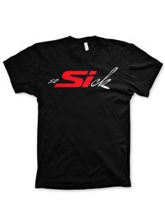 So Sick Honda civic SI Sick tshirt graphic JDM Racing shirt:Amazon:Clothing