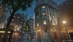 I worked on Overwatch and project Titan during pre production responsible for all aspects of lighting. Setting up workflows and rulesets as well as working with rendering engineers to implement the lighting solution. Game Environment, Environment Concept, Environment Design, Episode Interactive Backgrounds, Episode Backgrounds, Animation Background, 3d Background, Environmental Art, Places