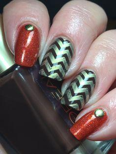 Canadian Nail Fanatic: Fall Nails!