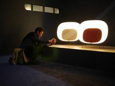 Foscarini @ Milan Designweek 2013 #Stewie design by Luca Nichetto