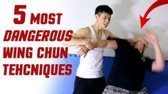 self defense 5 MOST DANGEROUS Wing Chuns Techniques - Learn Self Defense Martial…