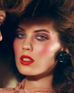 Me encanta este makeup, soy muy 80's