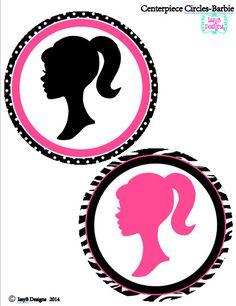 Barbie Party-Barbie Printables-DIY-Party por IssyBDesigns en Etsy