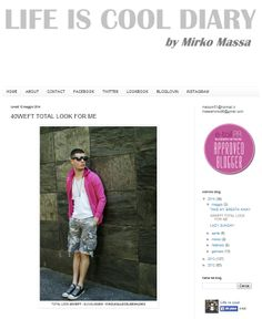 http://lifeiscooldiary.blogspot.it/ - May 2014 #40weft #fashionblogger #SS2014 #press