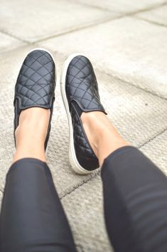 a1dce2fe09e2 nicole song spotted a great Target Find from Danielle    The-Lifestyle-Project – the Mossimo Dedra Quilted Slip-on in Black. These  casual