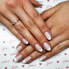 #my #work #first #french #hybrid #hybryda #naturalnails #mani #manicure #hybridmanicure #nails #frenchnails #nailstoinspire #nailswag #nailsofinstagram #elegant #clean #nailpolish #nailspic #semilac #indigo #nailscompany #engagementring #nailart #love #like #l4l #follow #polishgirl by megirzastaa