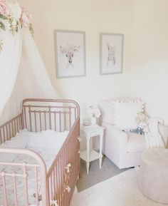 Aurora Canopy - Serene Floral Crib Canopy // Bed Crown // Nursery Decor // Teepee // Baby Shower Decoration or Gift Chic Nursery, Nursery Room, Floral Nursery, Nursery Decor, Girl Nursery, Bohemian Nursery, Floral Wall, Nursery Ideas, Room Decor