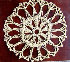 Ravelry: csidelady's hairpin lace doily