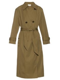 Double-breasted long-length trench coat | Isabel Marant Étoile…