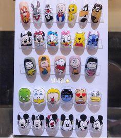 Nail Art Ideas To Dress Up Any Occasion – Your Beautiful Nails Pretty Nail Art, Cute Nail Art, Nail Art Diy, Diy Nails, Cute Nails, Animal Nail Designs, Cool Nail Designs, Nail Art Dessin, Disney Inspired Nails