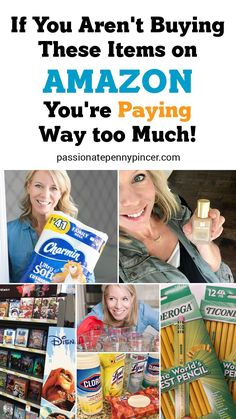 For many of us, Amazon offers easy savings (and convenience) on thousands of items, delivered right to our door. But it's important to know what items really are great prices, and which items are worth heading to your local store for.My general rule of thumb is to check Amazon for anything I would make a quick trip to Walmart for, because so many items end up being less money, with no stress. I love that!