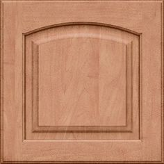 do not specify the size on this. This is the finish being used. The style is called Portsmith instead of Montclair. KraftMaid Montclair 15-in x 15-in Ginger with Sable Glaze Maple Arch Cabinet Sample