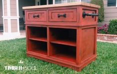 Modified Shepard Kitchen Island | Do It Yourself Home Projects from Ana White