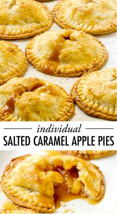 What's more American than apple pie? Nothing! This makes these Individual Salted Caramel Apple Pies the most delicious dessert to serve at your 4th of July celebration.