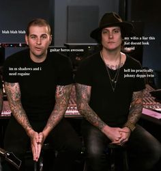Matt's & Syn's thoughts during the guitar hero video