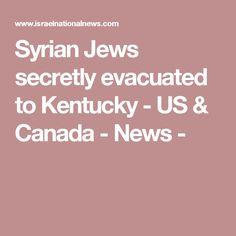 Syrian Jews secretly evacuated to Kentucky - US & Canada - News -
