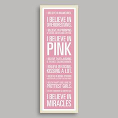 For my girls- have this hanging outside their bedrooms